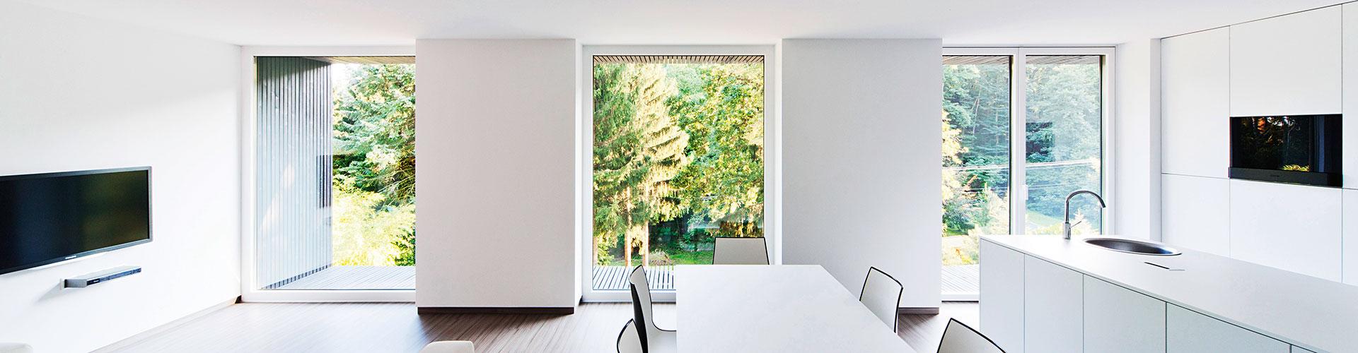 Kunststofffenster weiß