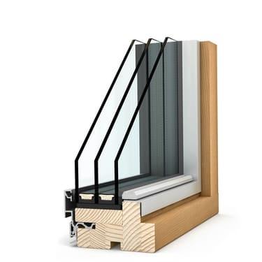Internorm Holz/Alu-Panoramafenster HX300