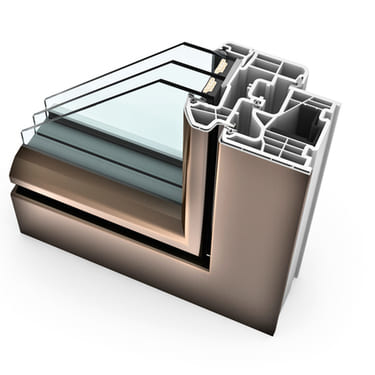Internorm Kunststoff-Alu-Fenster KF310 ambiente