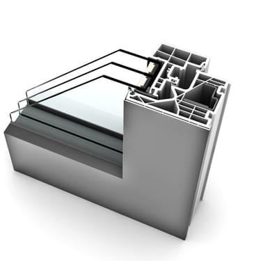 Internorm Kunststoff-Alu-Fenster KF320 studio