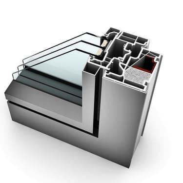 Internorm Kunststoff-Alu-Fenster KF410 studio