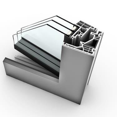 Internorm Kunststoff-Alu-Fenster KF520 studio geöffnet