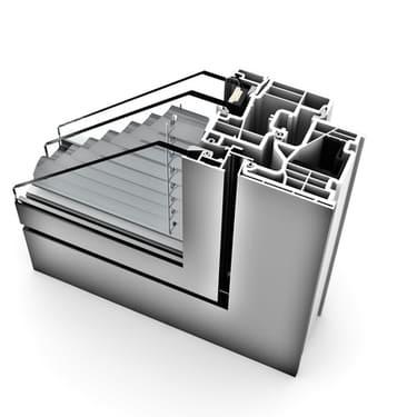 Internorm Kunststoff-Alu-Fenster KF350 homepure